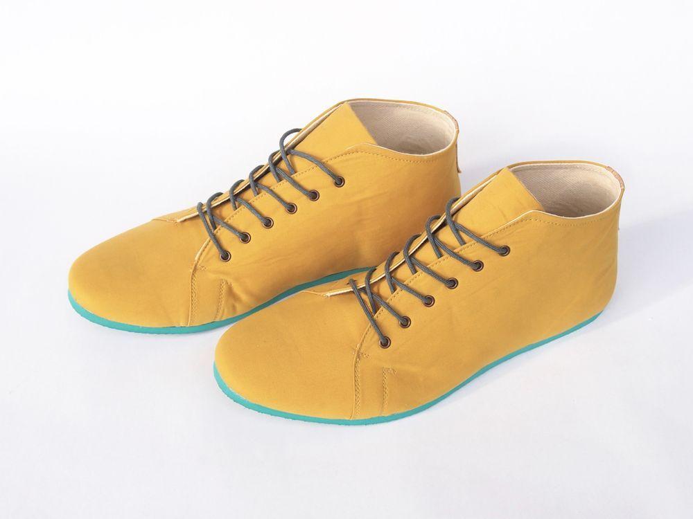 b5154f8ee1 SORBAS Shoes Berlin - SORBAS  66 organic cotton sneaker (vegan) in buttercup