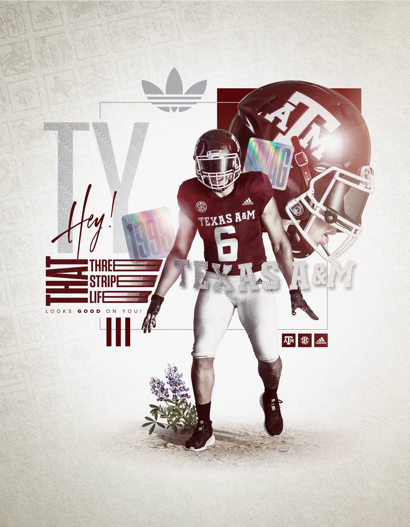 Texas A M In 2020 Sport Poster Design College Football Recruiting Sports Graphics