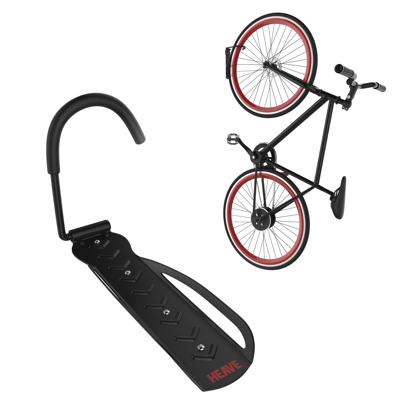 wall rack galv bike leda hq products mount security