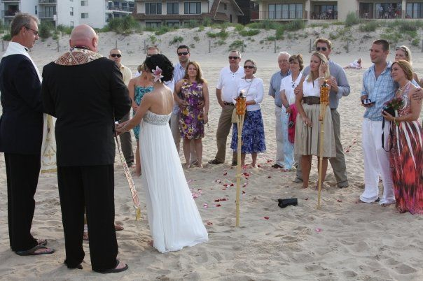Ocean City Beach Wedding: Beach Wedding In Ocean City, MD