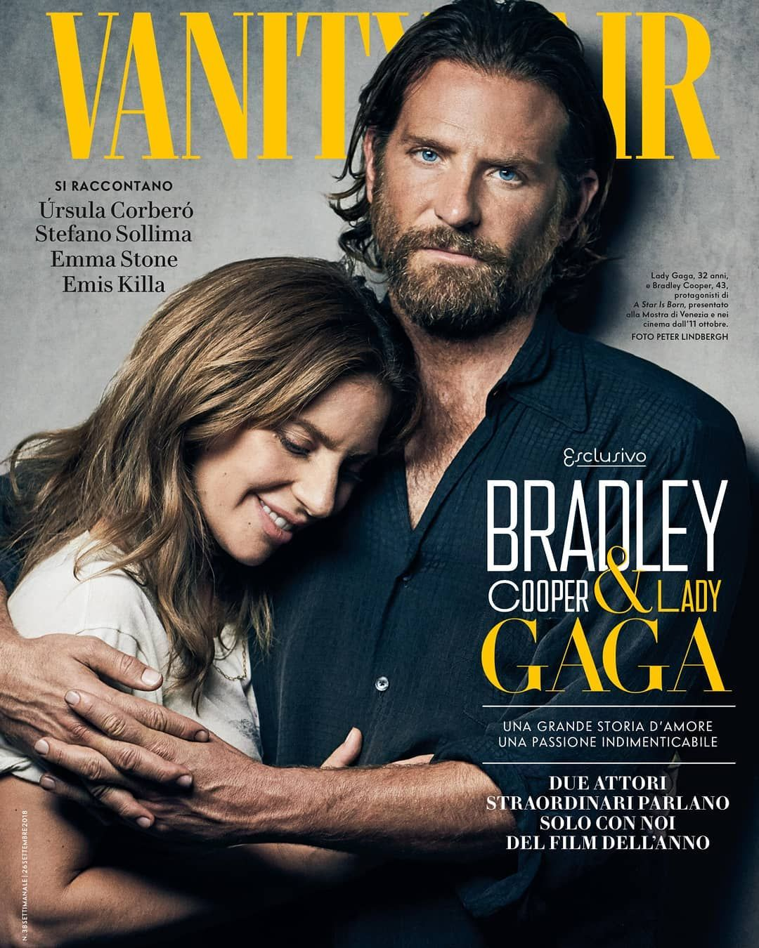 Lady Gaga With Bradley Cooper On Vanity Fair A Star Is Born Lady Gaga Photos Bradley Cooper