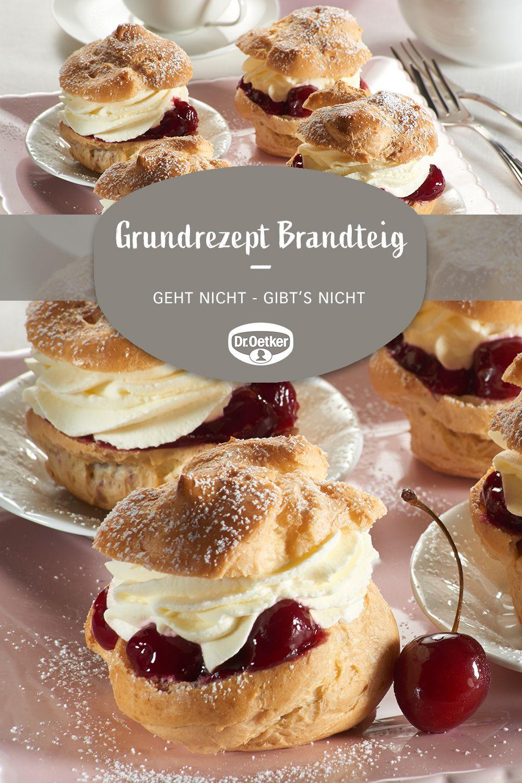 Grundrezept Brandteig