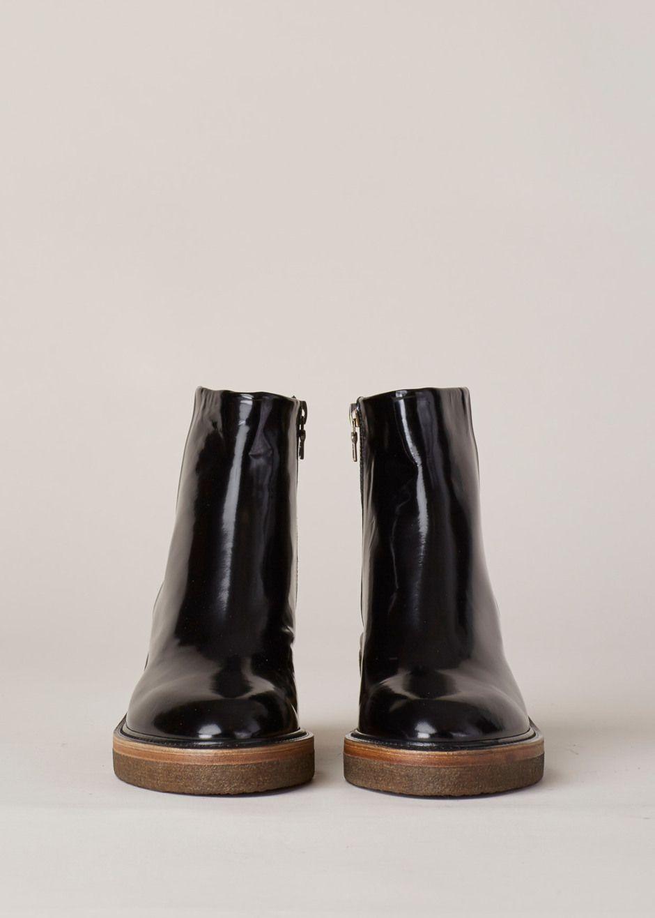 1d8b83add52 Dries Van Noten Chunky Heel Zip Boot (Black)