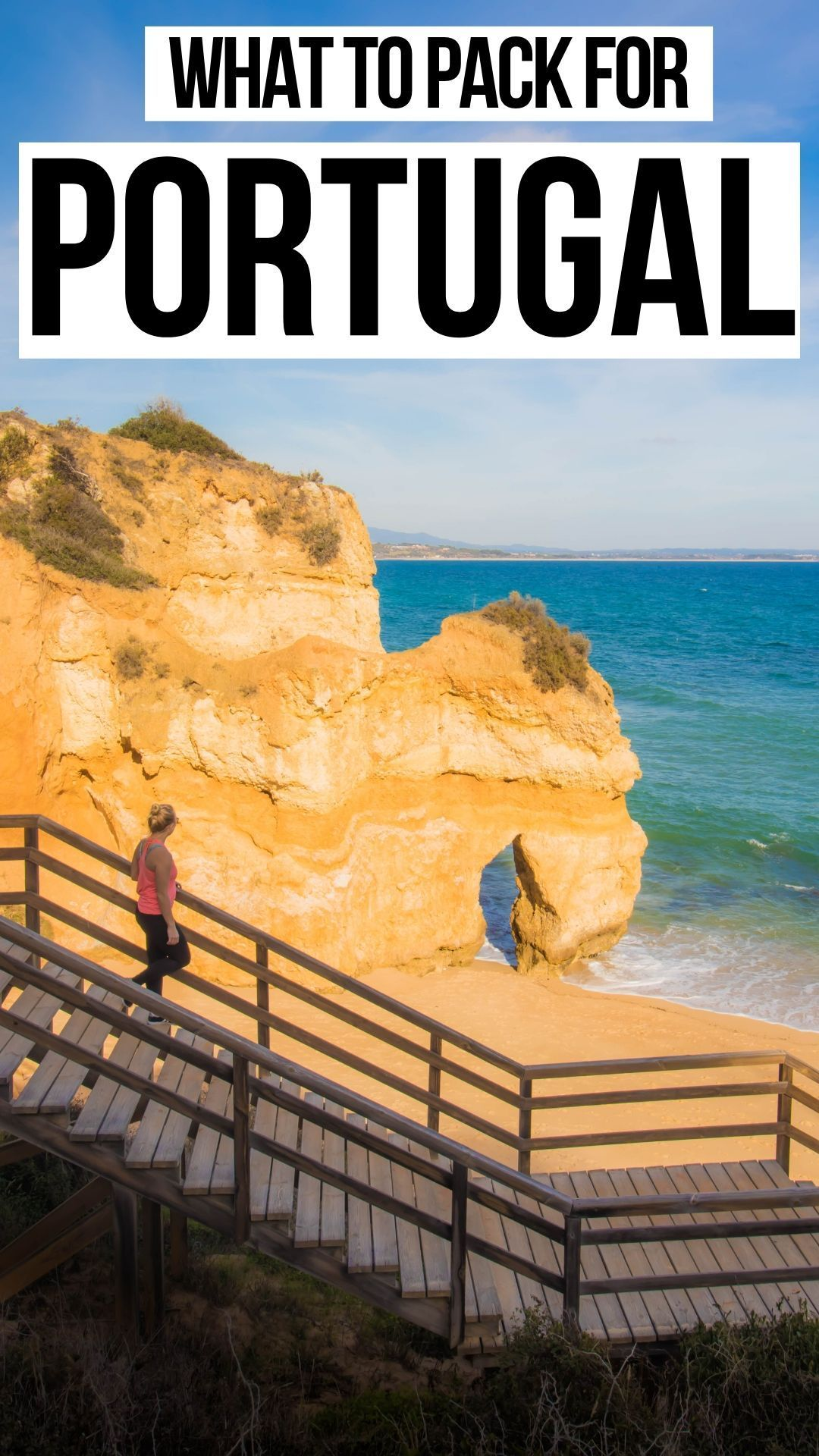 The #best #packing #list #for #Portugal #/ #What #to #bring #to #Lisbon #/ #What #to #bring #to #the #Algarve #and #Lagos #and #all #the #surrounding #beaches #/ #Fashion #in #Portugal #/ #Travel #in #Portugal #/ #beaches #algarve #lagos #lisbon #portugal #porto #travel #bestplacesinportugal