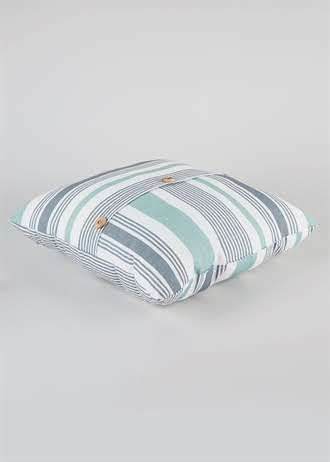 Outdoor Stripe Print Scatter Cushion (45cm x 45cm)