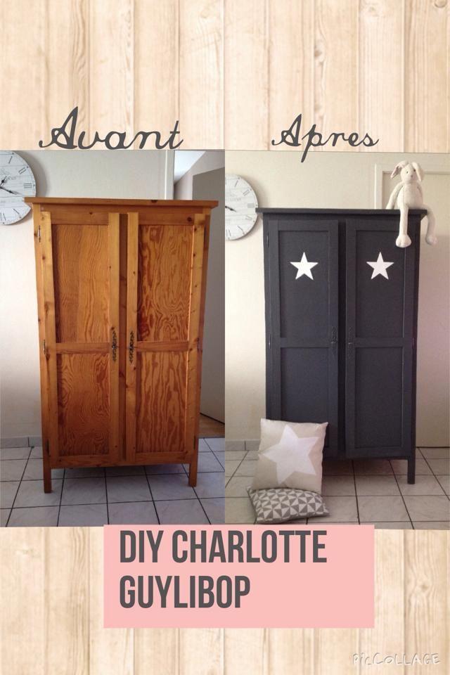 Pin by Stéphanie CAUMONT Décoration on DIY Decoration Pinterest - relooker un meuble en pin