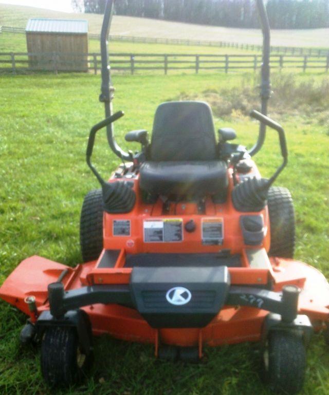 Kubota Zd21 Pro 60 Zero Turn Mower Diesel 813 Hrs 5000 Tractors For Sale Kubota Garden Tractor