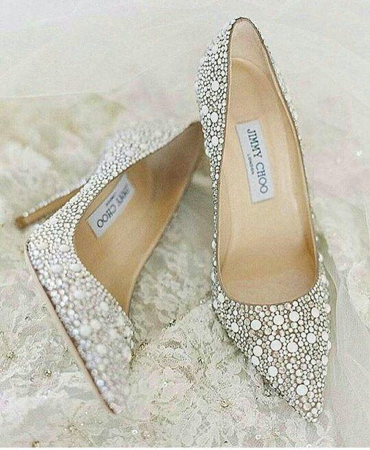 80c61b42f1b Jimmy Choo Wedding Heels Sparkly Wedding Shoes
