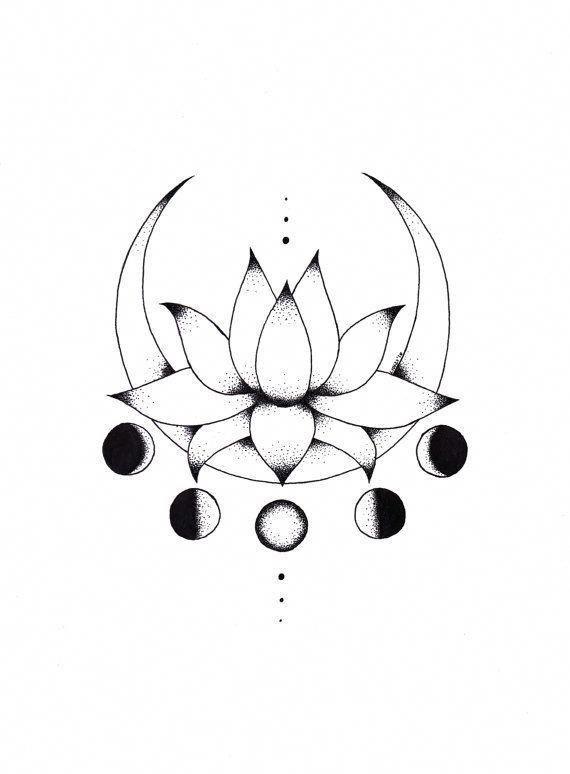 Afbeeldingsresultaat voor tatuajes femeninos delicado pequeño en la espalda flecha con flor de loto #tattoosforwomen