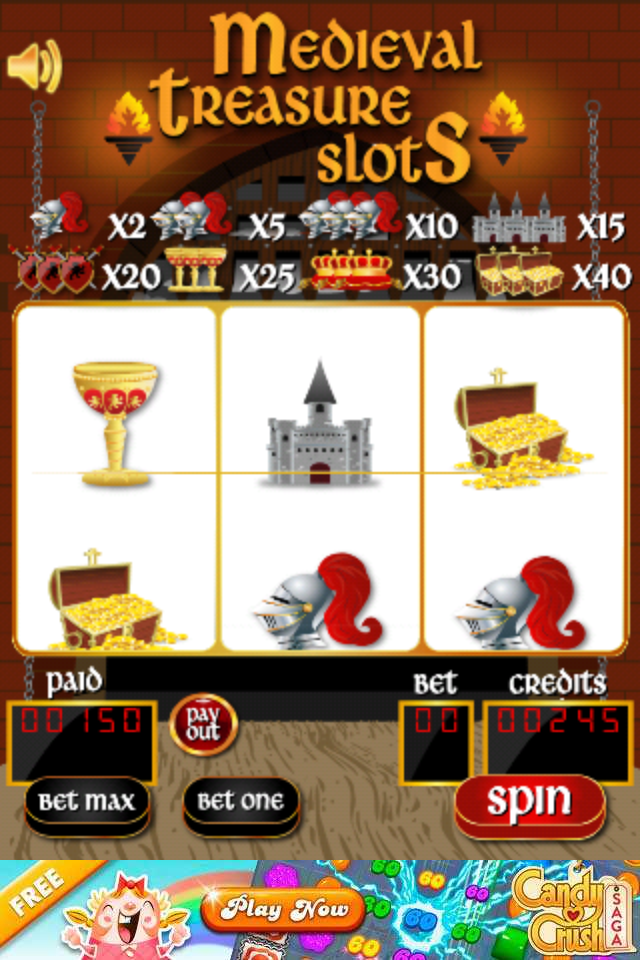 Love Medieval Times, Love Slots - You will love this game.