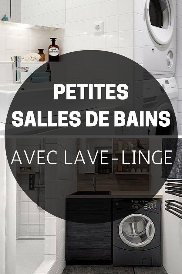 9 petites salles de bains avec lave linge astuces conseils bricolage pinterest coffee. Black Bedroom Furniture Sets. Home Design Ideas