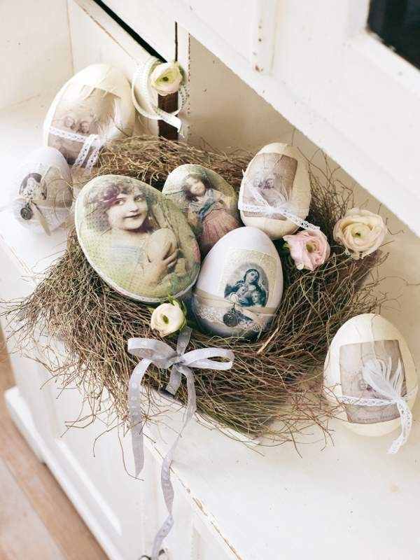 20 Inspiring Easter Decor With Vintage Touches Easter