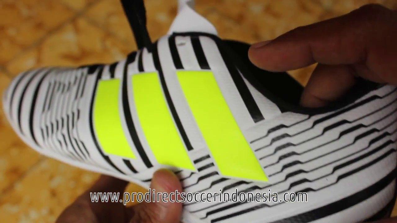 Sepatu Futsal Adidas Nemeziz 17 4 In Ftwwht Solar Yellow S82473