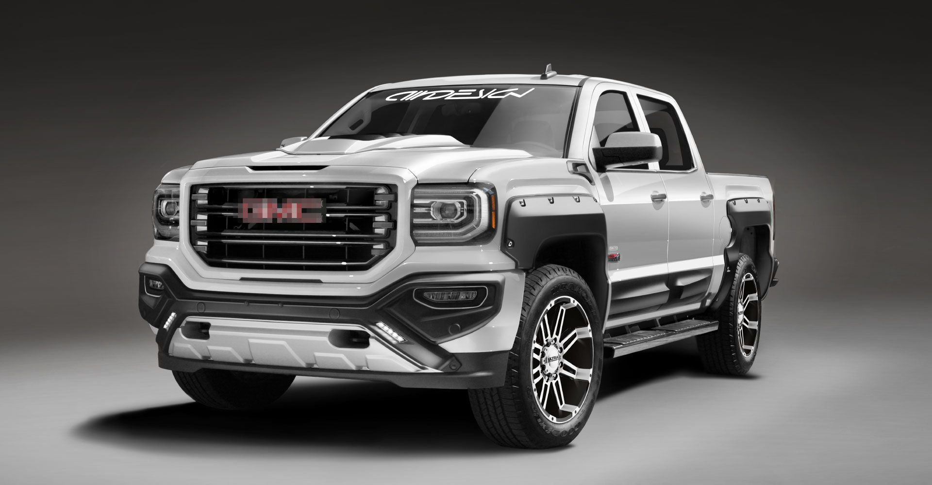 Gmc Sierra Air Design Usa The Ultimate Accessories Collection