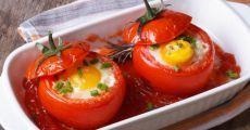 Яичница в помидоре: завтрак, от которого не откажутся даже дети!