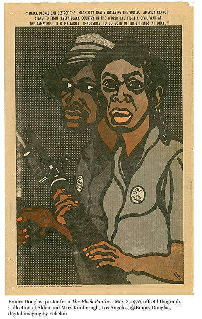 Black Panther: The Revolutionary Art of Emory Douglas | MOCA The Museum of Contemporary Art, Los Angeles