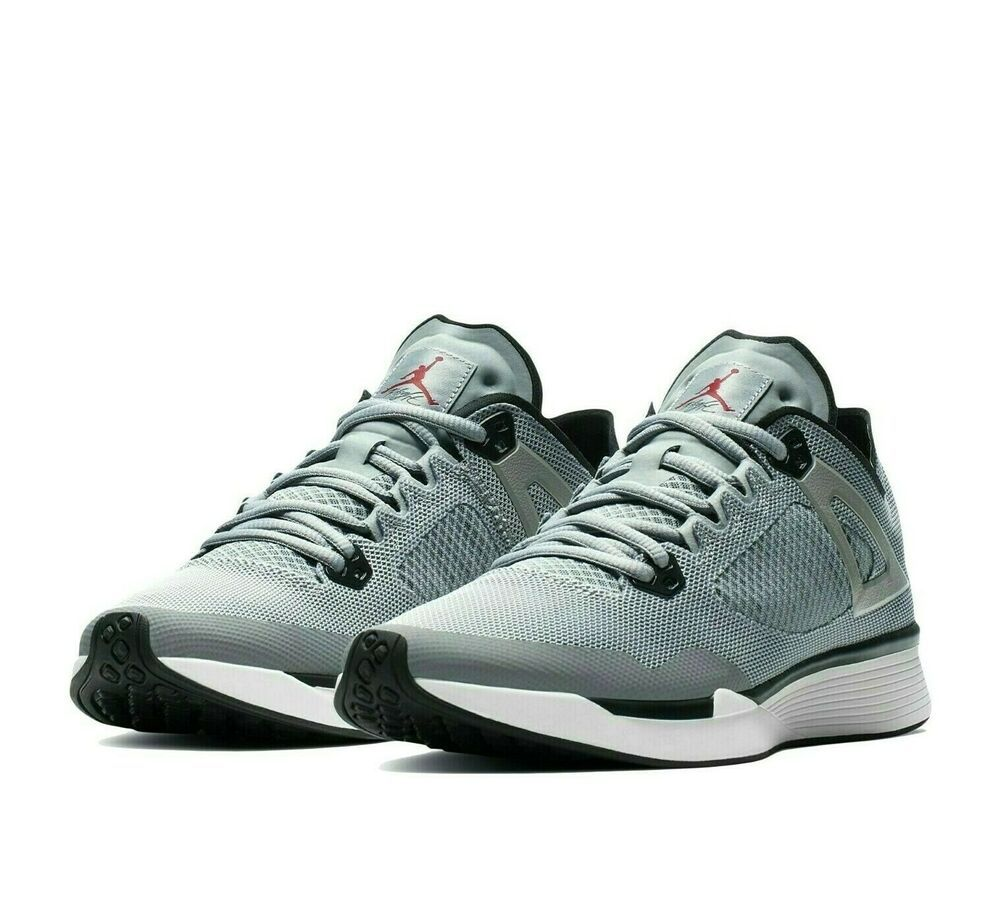 Jordan 89 Racer Mens Running Shoes 8 Particle Grey Black AQ3747 ...