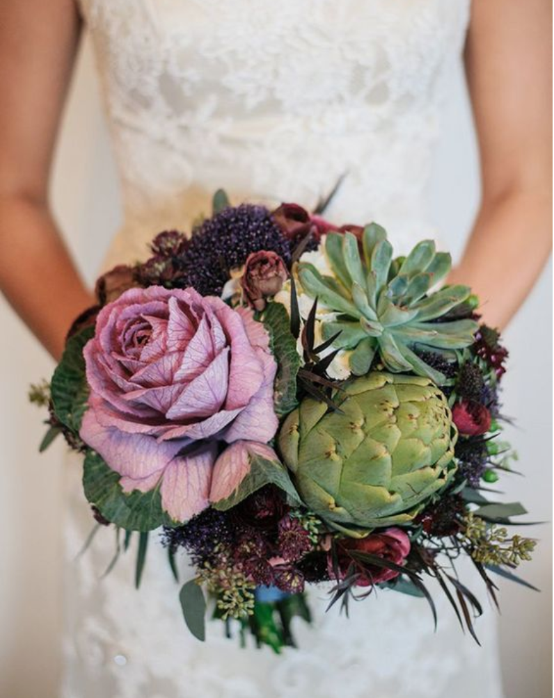 Gorgeous Alternatives To Traditional Bridal Bouquets Bridal