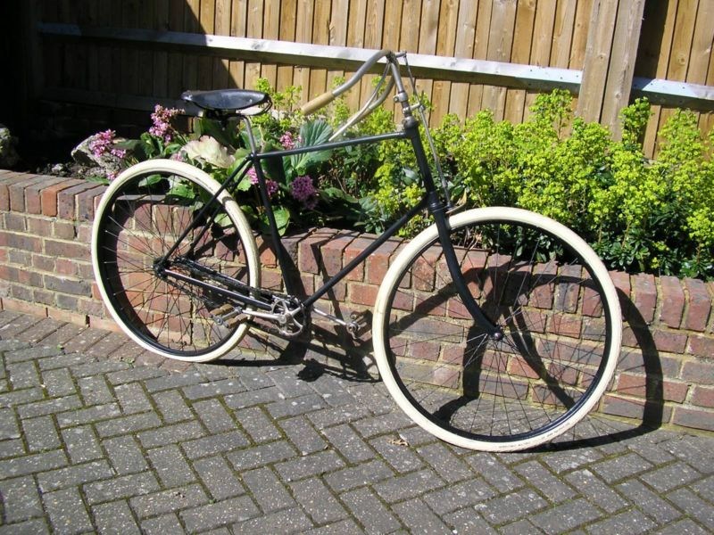 1890s PEREGRINE ANTIQUE BICYCLE LEICESTER CYCLE Co. VINTAGE ...
