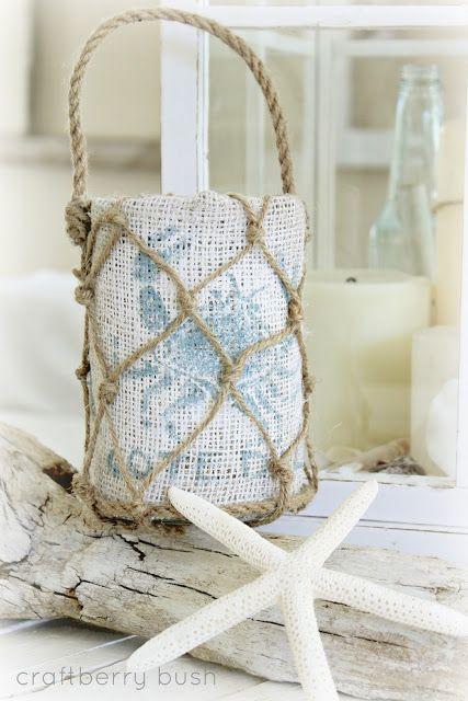 Beachy Lantern Decor ***