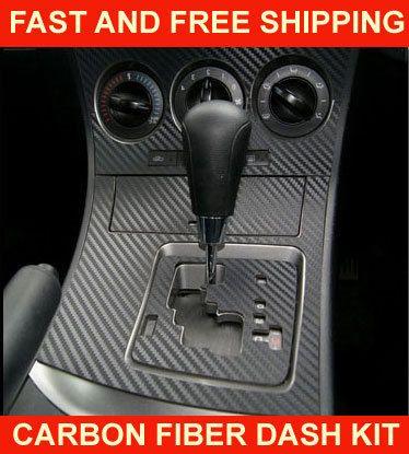 Infiniti G35 03 04 Carbon Fiber Interior Dashboard Dash Trim Kit Parts Free Ebay