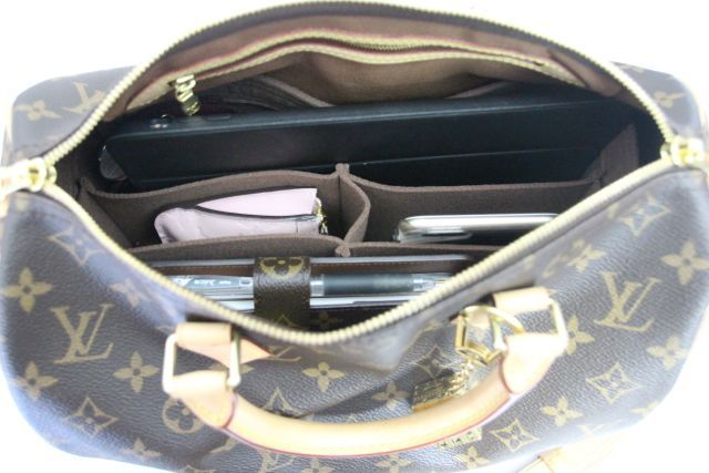 5382f3ede3 A review of the Samorga bag organizer LV-S30-5 for the Louis Vuitton Speedy  B 30