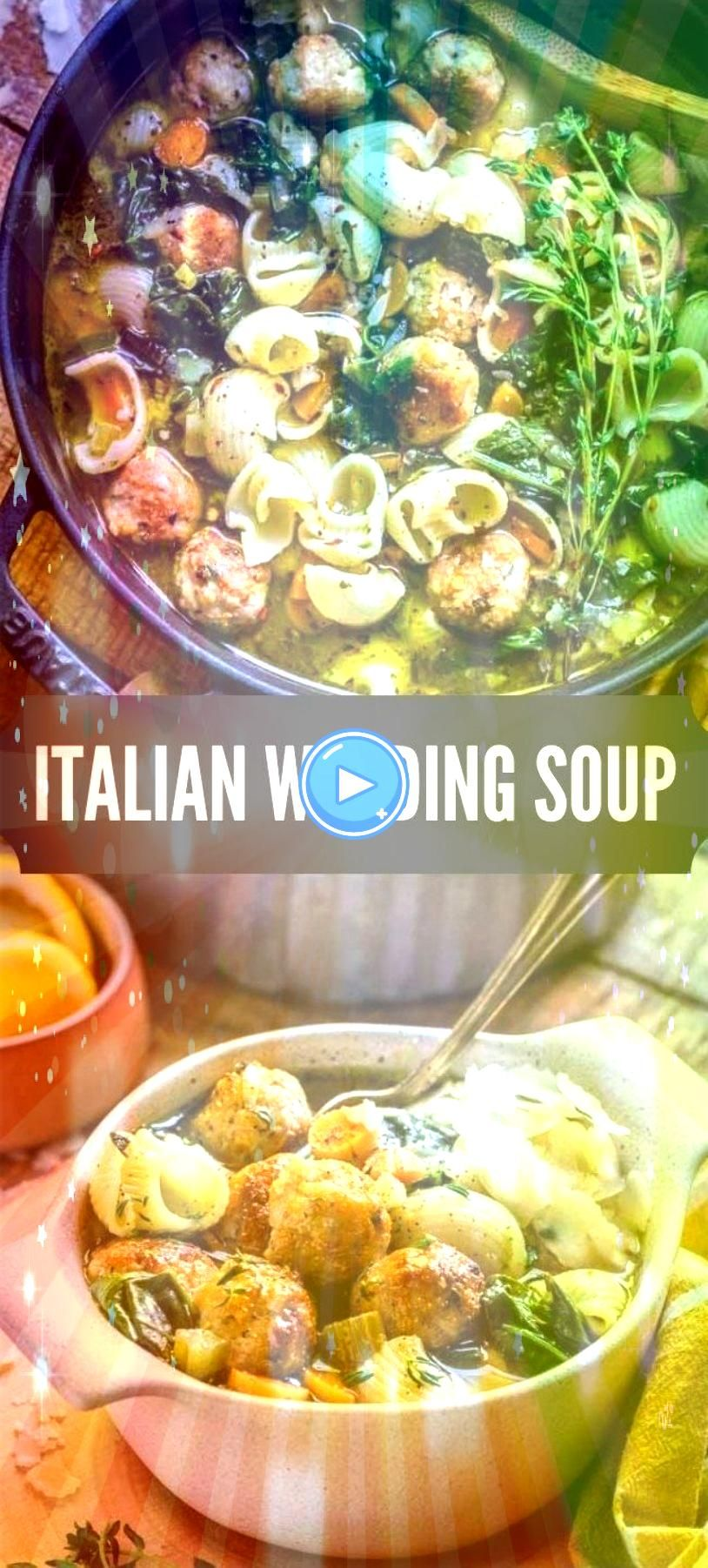#italianweddingsoup #italianrecipes #souprecipes #weddingsoup #italianfood #noodlesoup #flavorful #meatballs #beautiful #textures #comfort #healthy #italian #flavors #recipesBEST ITALIAN WEDDING SOUP RECIPE! This rustic noodle soup is packed with beautiful colors, flavors and textures. Enjoy a warm hearty bowl of this healthy flavorful soup. When it comes to comfort food, this recipe is a real winner!BEST ITALIAN WEDDING SOUP RECIPE! This rustic noodle soup is packed with beautiful colors... #italianweddingsoup
