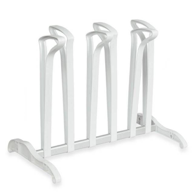 product image for White 3-Pair Boot Stand