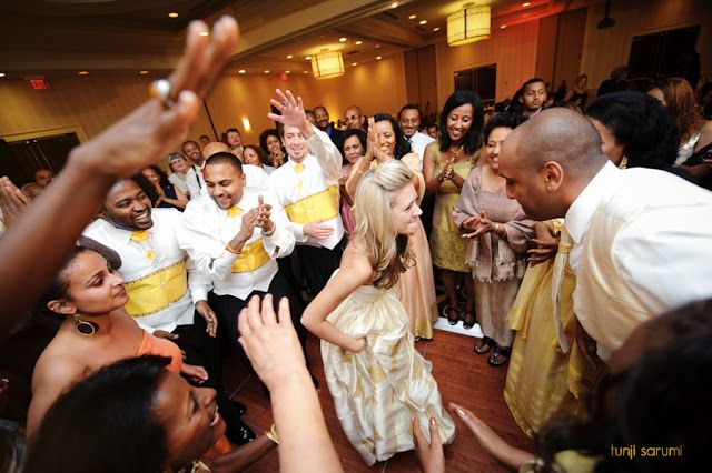 Traditional Ethiopian Dancing Fusion Wedding Wedding Gorgeous