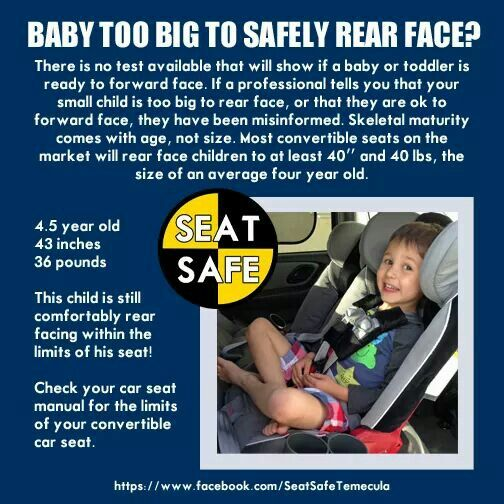 Extended Rear Facing >> Rear Facing Is Incredibly Important Car Seat Safety Rear