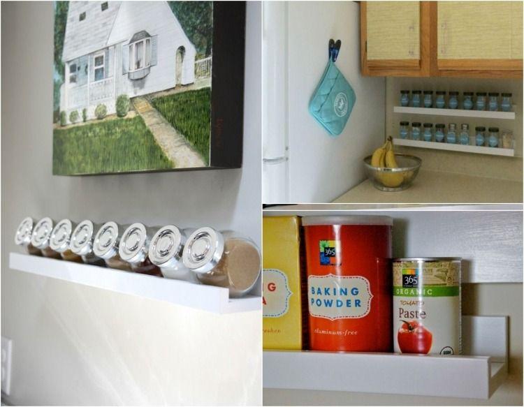 Regal für Kräutergläser und Konservendosen | Ikea | Pinterest ...