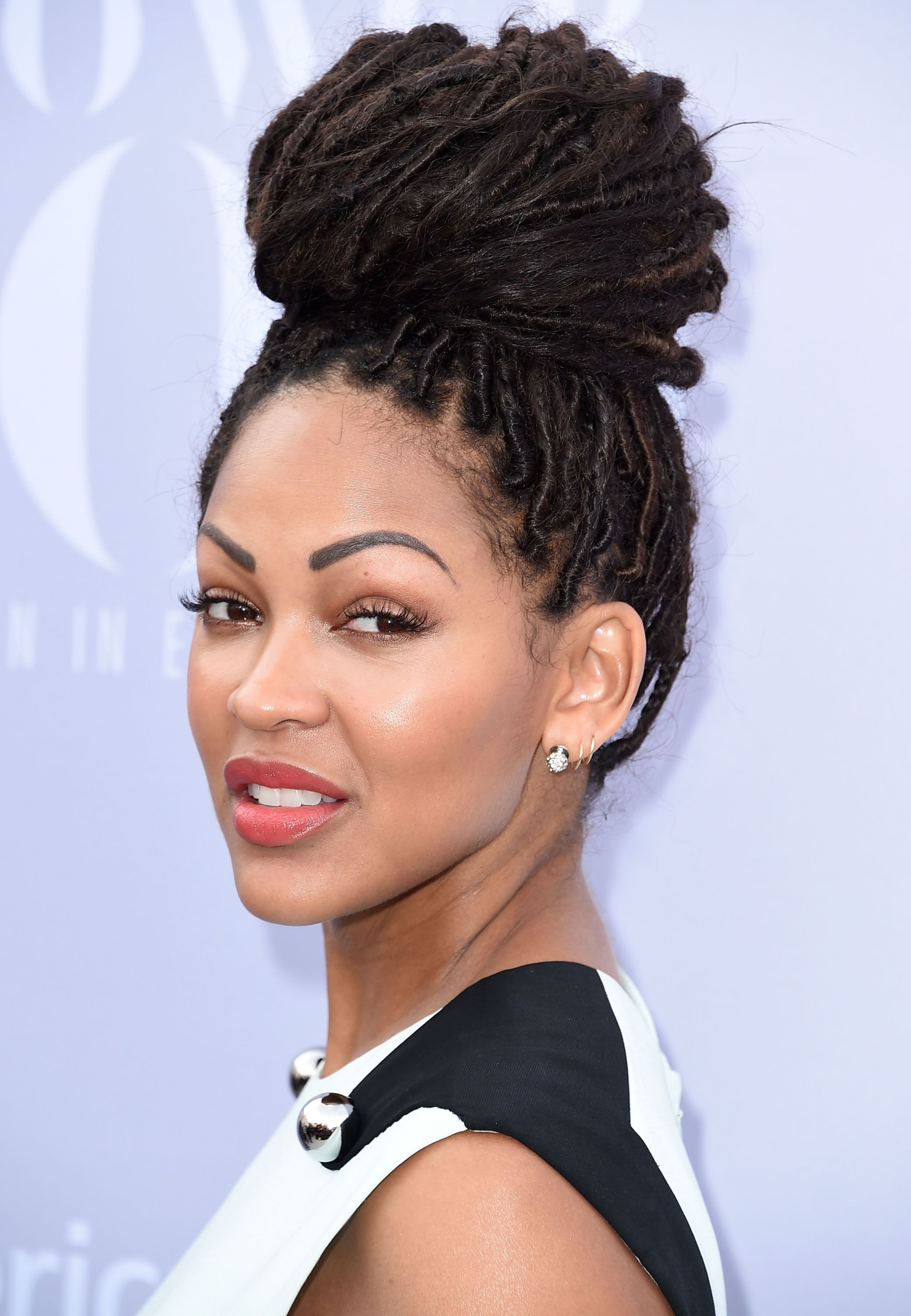 Meagan goodv luv luv her hair cant wait to do my hair 10 gorgeous dreadlocks hairstyles youll want to copy meagan good pmusecretfo Gallery