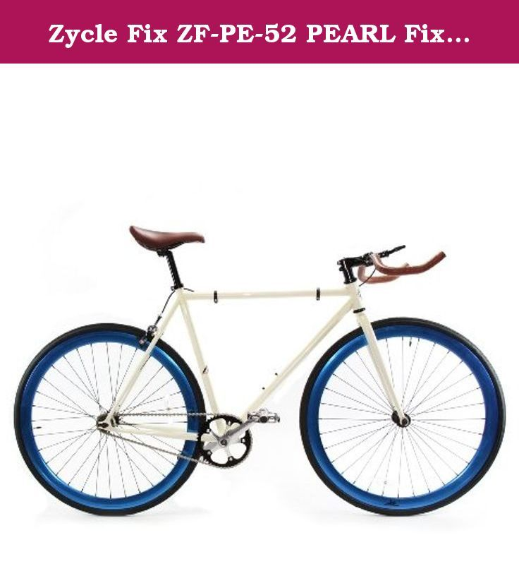 Zycle Fix Zf Pe 52 Pearl Fixed Gear Bike 52cm One Size Frame
