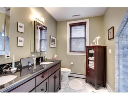 Adjacent master bath has all the luxurious qualities you wish for!