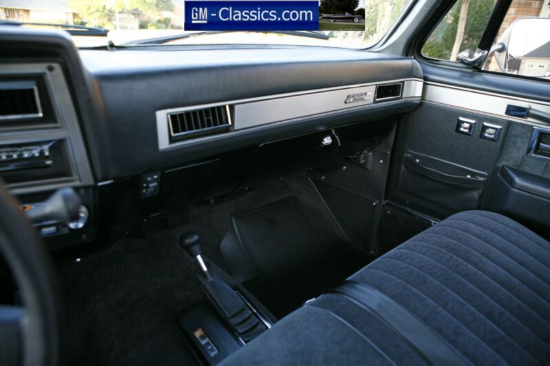 Stock Dashboard Truck Interior 1985 Chevy Truck Classic Chevy Trucks