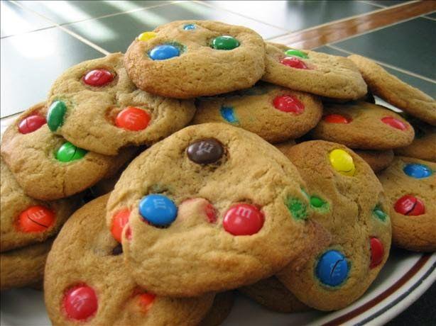 Cookies De M & M