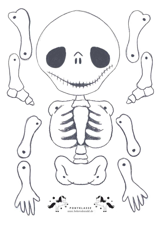 Kleiner Skeleton Hampelmann Unterrichtsmaterial Im Fach Kunst In 2020 Halloween Figuren Hampelmann Basteln Hampelmann
