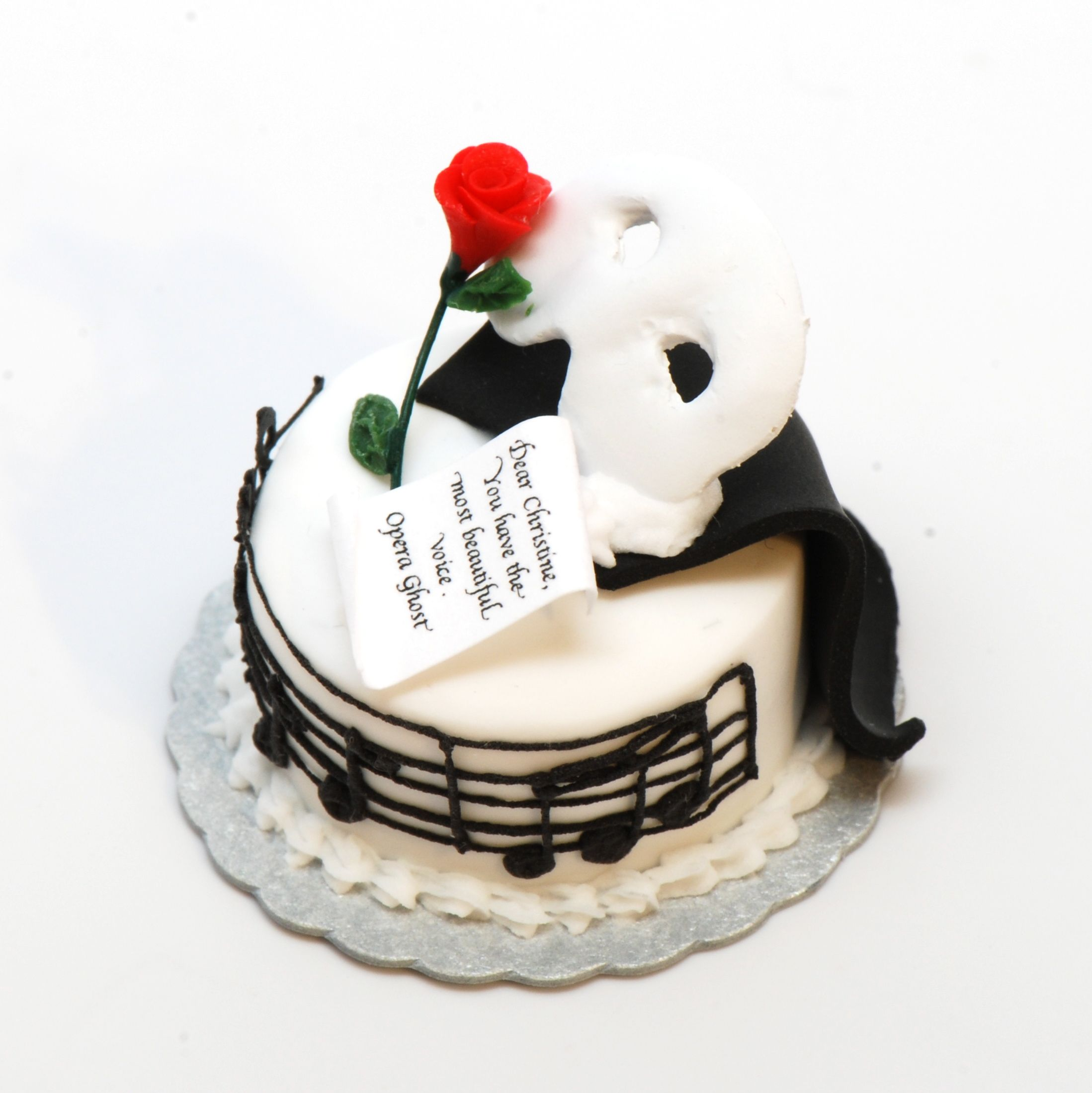 Phantom of the Opera Birthday Cake These cake tins are for all ...