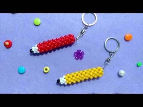 Gantungan Kunci Pencil Manik Manik Youtube Di 2020