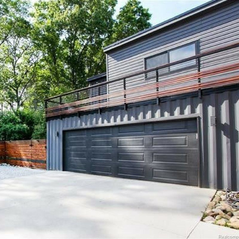 Royal Oak Shipping Container House Container House Design