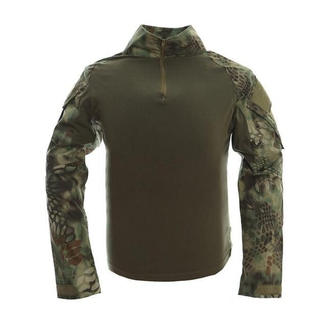 Novelty & Special Use Smart Camouflage T-shirts Military Uniform Us Army Combat Long Sleeve Shirts Cargo Airsoft Paintball Militar Tactical Clothing Military
