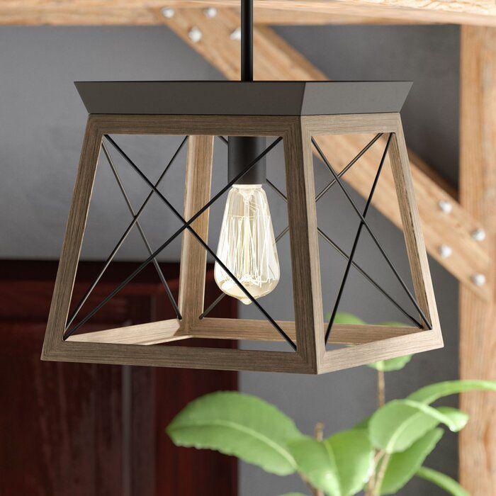 Delon 1  Light Lantern Geometric Pendantdelon