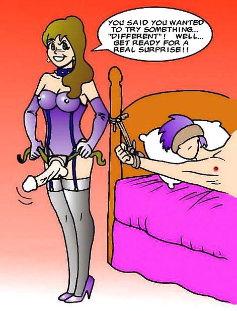 Cartoon strapon porn