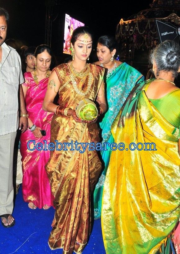 The Gallery For Jr Ntr Marriage Photos With Pranathi Marriage Photos Marriage Photo