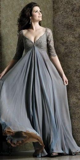 ee1cfcfdb64 вечерние платья для полных Robe Cérémonie