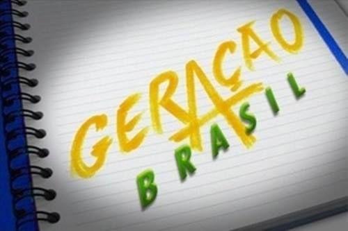 """EXCLUSIVO: Vaza suposto logotipo da novela """"Geração Brasil"""" Veja!"""