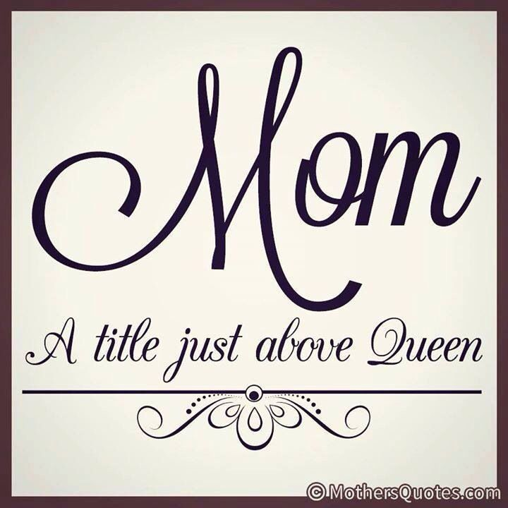 Mum Is A Title Just Above Queen Mummy Mom Quote Women T shirt Birthday Christmas