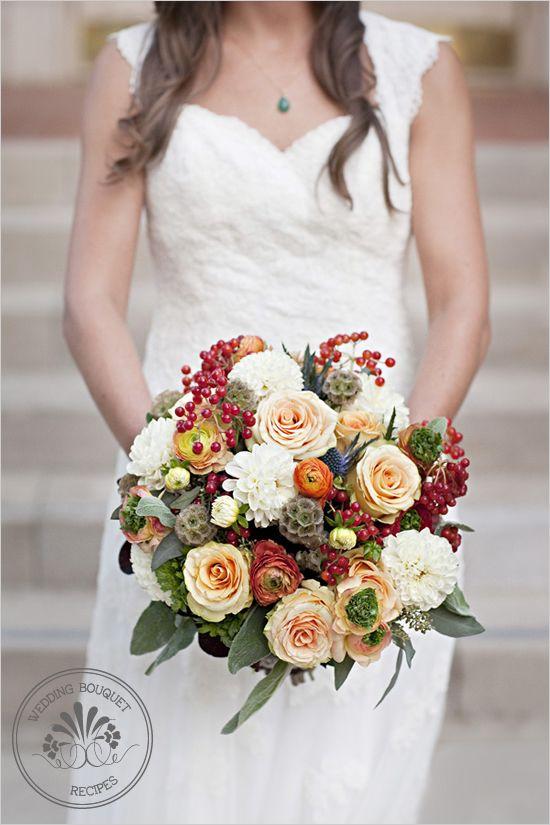 fall wedding boquuet
