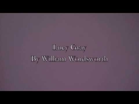 lucy gray by william wordsworth poem