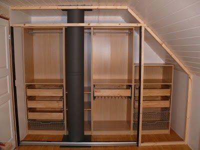 Walk In Closet Using Pax Malm Doors